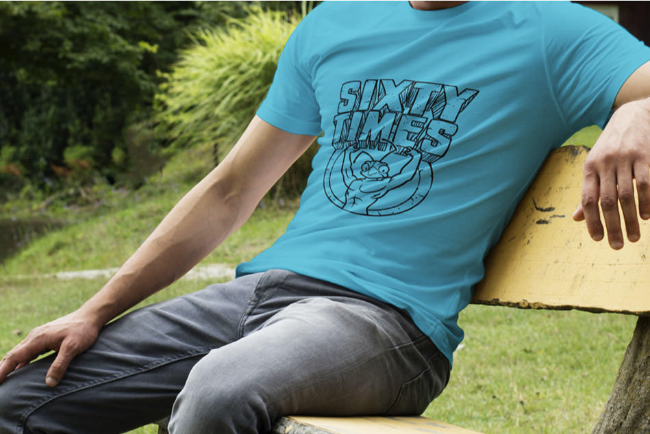 sixtytimes t-shirt logo